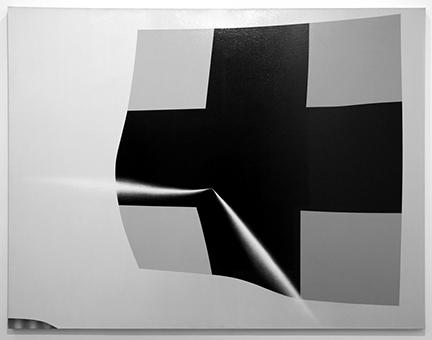Kazimir Malevich, Cross #2, 1996, acrylic on canvas, 81.5