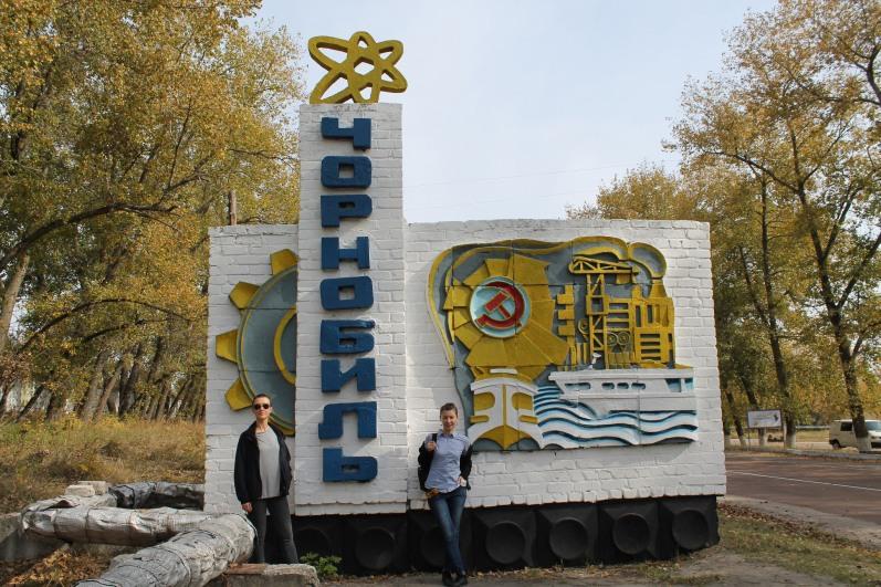 Entering Chornobyl