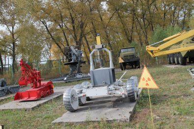 Cyborgs near Chornobyl