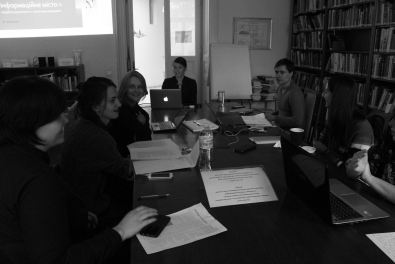 Last meeting of my seminar at the Center for Urban History in Lviv. Oct. 2016 https://informationcitysite.wordpress.com/
