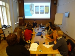 "My ""Information City"" seminar at the Center for Urban History in Lviv. Oct. 2016 https://informationcitysite.wordpress.com/"
