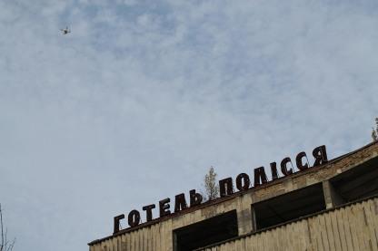 Drones in Prypyat