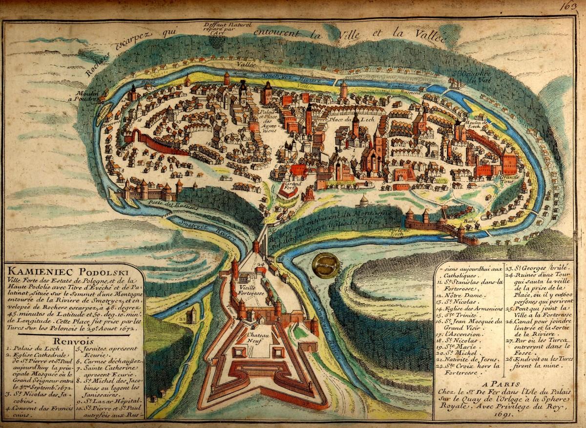 Kamianets-Podilskyi_map_1691